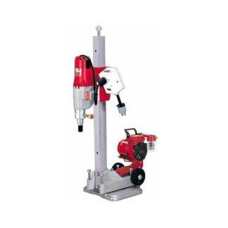 Milwaukee 4115-22 Diamond Coring Rig with Vac-U-Rig® Kit, Meter Box