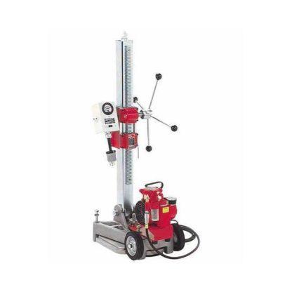 Milwaukee 4136 Diamond Coring Rig with Large Base Stand, Vac-U-Rig® Kit and Meter Box