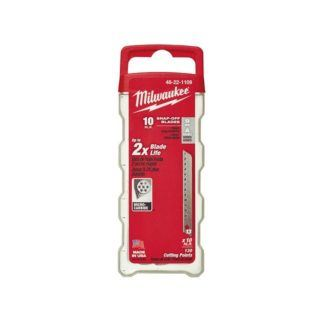 Milwaukee 48-22-1109 9mm General Purpose Snap Blades