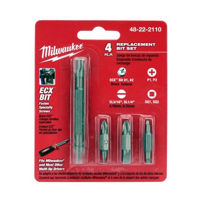 Milwaukee 48-22-2110 Replacement Bit Set