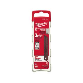 Milwaukee 48-22-9118 10 PC Pro Snap Blade 18mm
