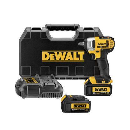 DeWalt DCF883M2 20V Impact Wrench Kit