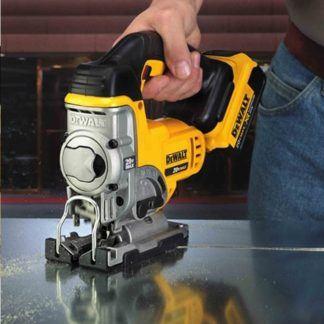 DeWalt DCS331B 20V Jig Saw In Use 3