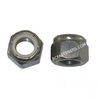 Nylon Lock Nuts Metric Stainless Steel