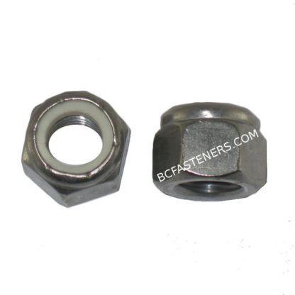 Nylon Lock Nuts Metric Stainless Steel