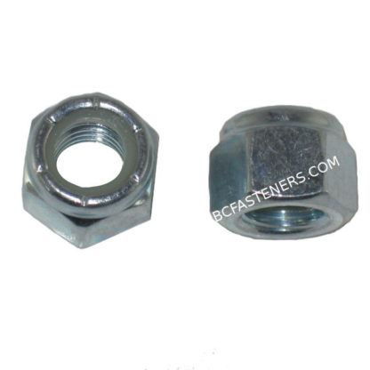 Nylon Lock Nuts Zinc Plated