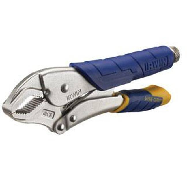 Irwin Vise-Grip 11T 10CR Fast Release Curved Jaw Locking Pliers
