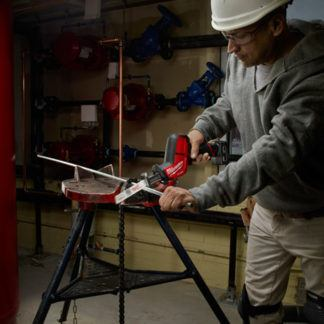 Milwaukee 2520-20 M12 FUEL HACKZALL Recip Saw In Use