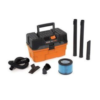 Ridgid 31663 4.5 Gal Pro Pack Portable Wet Dry Vac WD4522