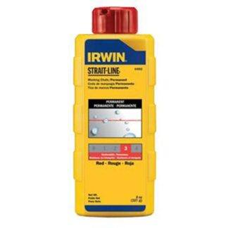 Irwin 65102 5lb Red Permanent Marking Chalk