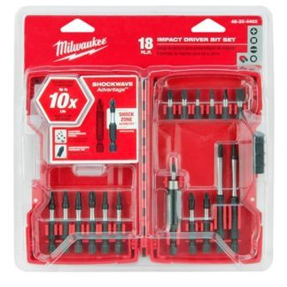 Milwaukee 48-32-4403 Shockwave 18PC Driver Bit Set