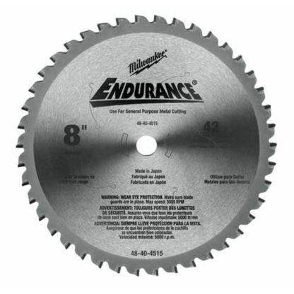Milwaukee 48-40-4515 Dry Cut Cermet Tipped Circular Saw Blade