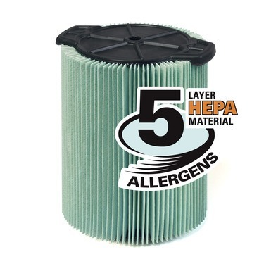 Ridgid VF6000 5-Layer Allergen Filter