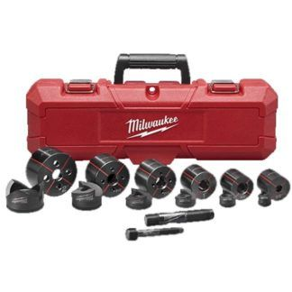 "Milwaukee 49-16-2693 EXACT™ 1/2"" to 2"" Knockout Set"
