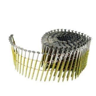 Spiral Shank Coil Nail HDG
