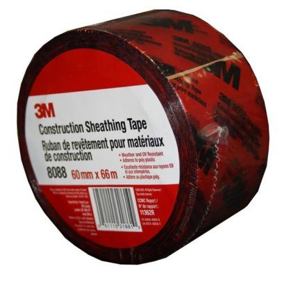3M 8088 Construction Sheathing Tape