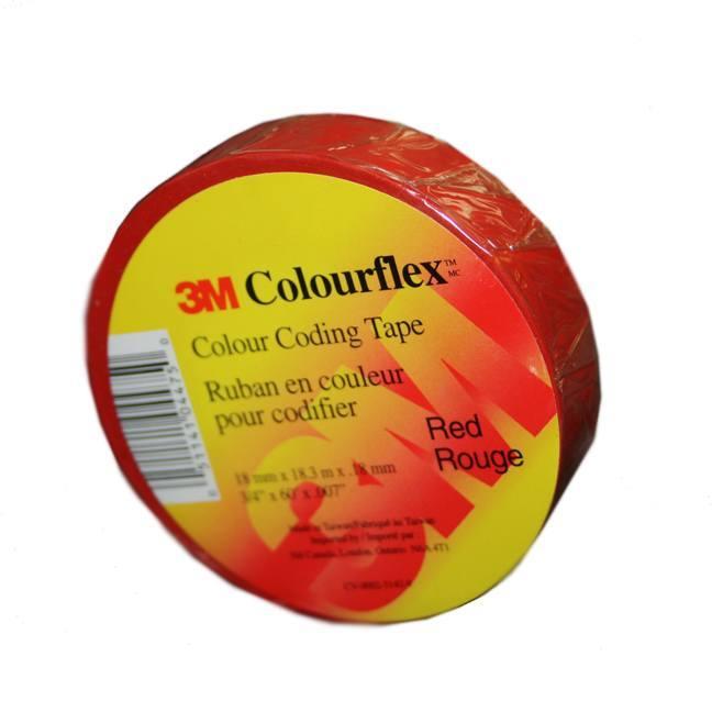 3M Colourflex Vinyl Electrical Tape