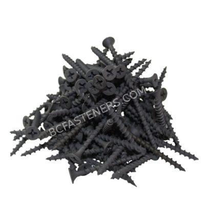 #6 Drywall Screws Fine Thread Flat Head Phosphate Coated