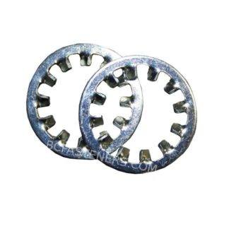Lock Washer Zinc Internal Tooth