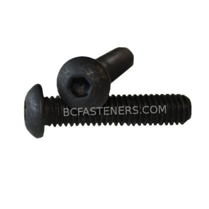 Button Head Socket Cap Screw Black