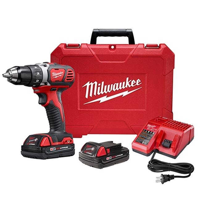 "Milwaukee 2606-22CT M18 1/2"" Drill Driver Kit"