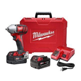 "Milwaukee 2658-22 M18 3/8"" Impact Wrench Kit"