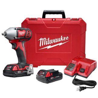"""Milwaukee 2658-22CT M18 3/8"""" Impact Wrench Kit"""
