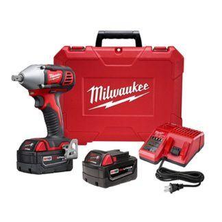 "Milwaukee 2659-22 M18 1/2"" Impact Wrench Kit"