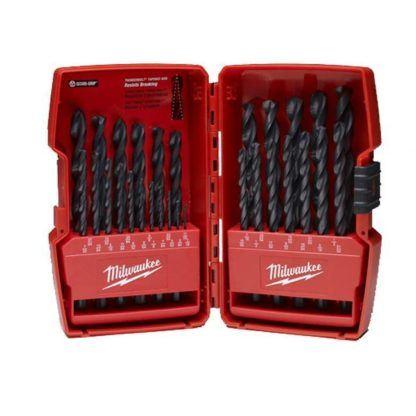 Milwaukee 48-89-2802 Black Oxide Drill Bit Set - 29 Piece