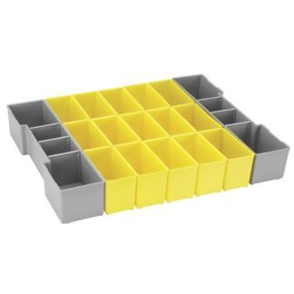 Bosch ORG1A-YELLOW Organizer Set for L-Boxx