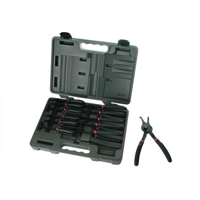 GearWrench 3495 12-Piece Fixed Tip Snap Ring Pliers Set