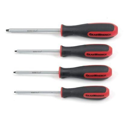 GearWrench 80065 4-Piece Square Screwdriver Set