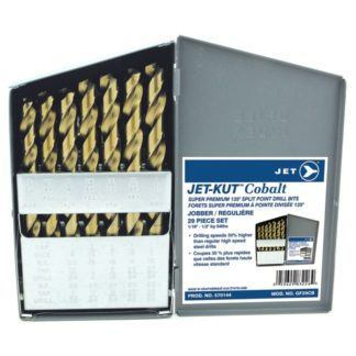 Jet 570144 29-Piece Jet-Kut Cobalt Super Premium Drill Bit Set