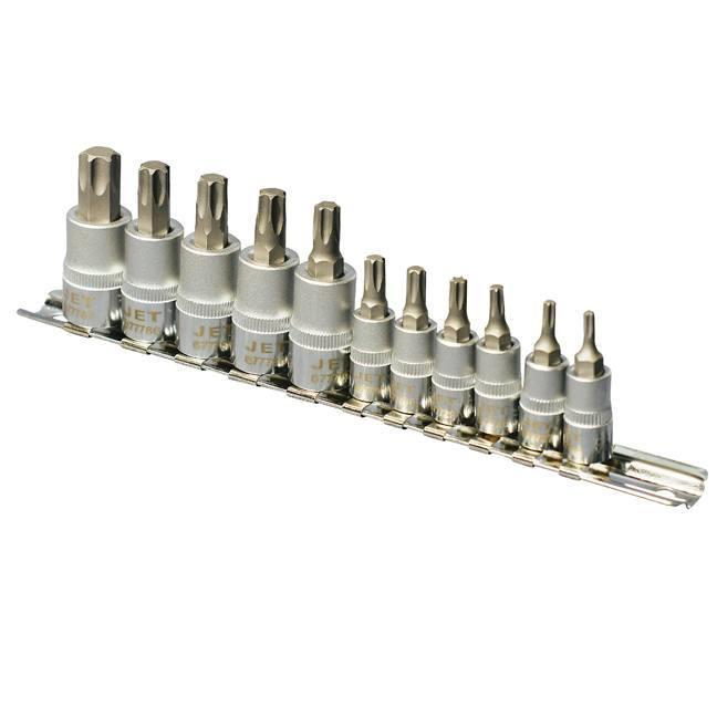 Jet 601806 11-Piece Torx Bit Socket Set