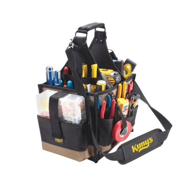 Kuny's SW-1528 23-Pocket Large Electrical & Maintenance Tool Carrier