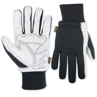 Kuny's 260 Suede Palm with Knit Wrist Gloves