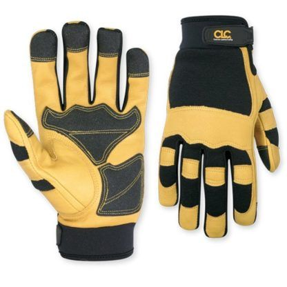 Kuny's 275 Top Grain Goat Skin and Spandex Gloves