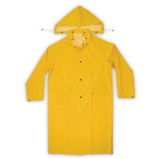 Kuny's R105 2-Piece PVC Trench Coat