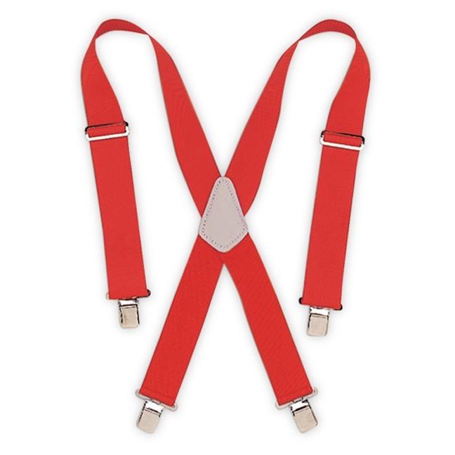 Kuny's SP-17R Red Heavy Duty Elastic Suspenders