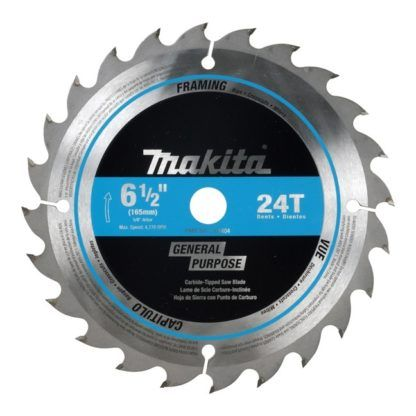 "Makita T-01426 16CT & 24CT 6-1/2"" Cordless Circular Saw Blades"