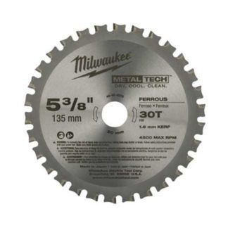 "Milwaukee 48-40-4070 30CT 5-3/8"" Circular Saw Blades"