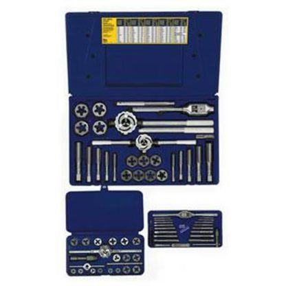 Irwin 97606 66-pc Machine Screw Fractional & Hex Die Set