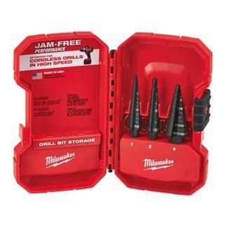 Milwaukee 48-89-9221 Step Drill Bit Set - 3 PC