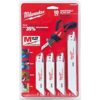 Milwaukee 49-22-0220 10-PC HACKZALL Blade Set