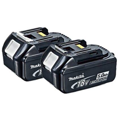 Makita 196681-7 BL1850 18V 5.0Ah Li-Ion Battery - 2 Pack