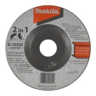 "Makita B-38548 7"" 2-In-1 Abrasive Disc A36T"