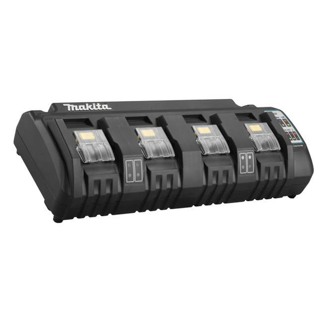 Makita Dc18sf 18v 4 Port Multi Charger Bc Fasteners Amp Tools