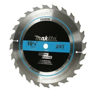 Makita High-Quality Circular Saw Blades - 10-1/4""