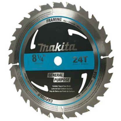 "Makita High-Quality Circular Saw Blades - 8-1/4"""