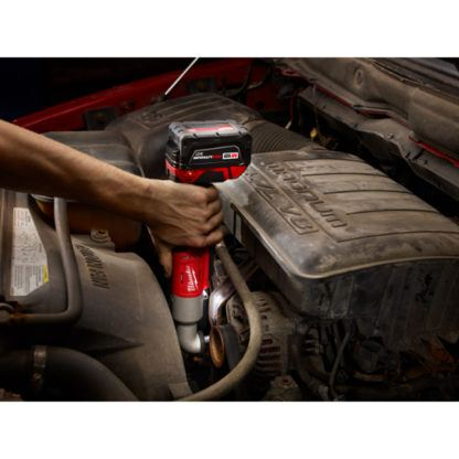 Milwaukee 2668-20 M18 2-Speed Right Angle Impact Wrench In Use